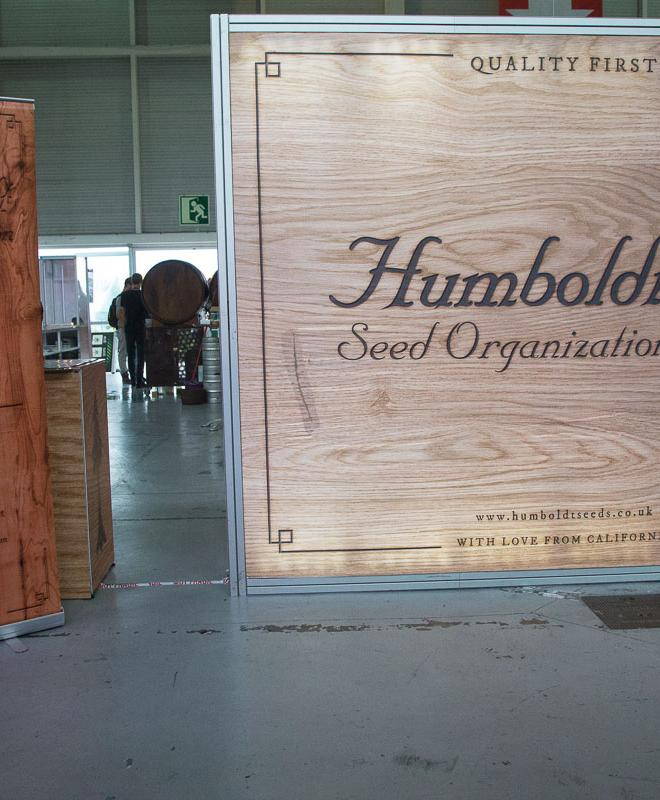 Stand der Humboldt Seed Organization