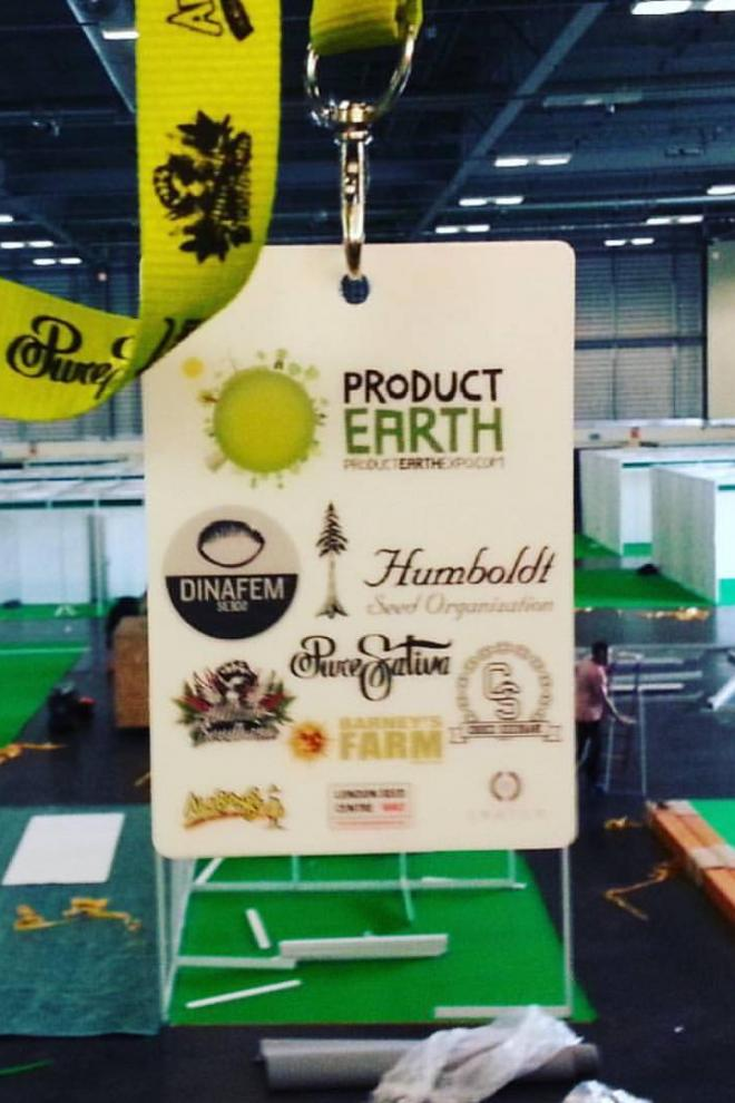 Nachweis Product Earth Expo Peterborough