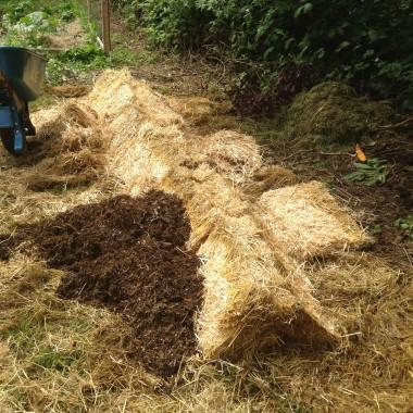 Préparation de compost biodynamique